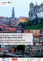 "Symposium ""Eco-réhabilitation du bâti ancien"" - Porto, 22-23 mars"