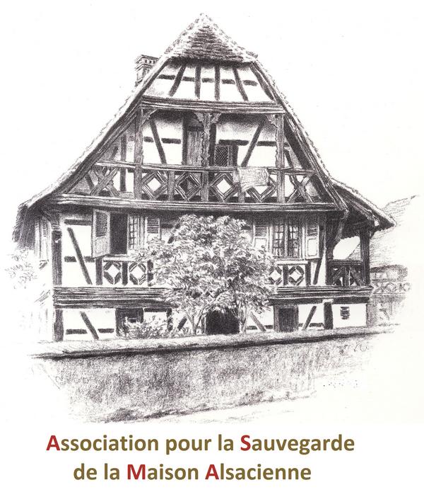 Les maisons d alsace photo duun htel dans une maison for Logo avec une maison