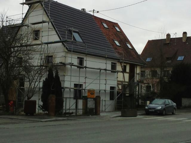 Isolation Thermique par l'Extérieur à Bartenheim